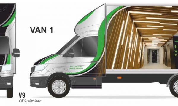 Cre8 Washroom Vans
