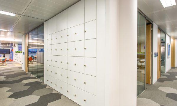 QuebWall storage solution