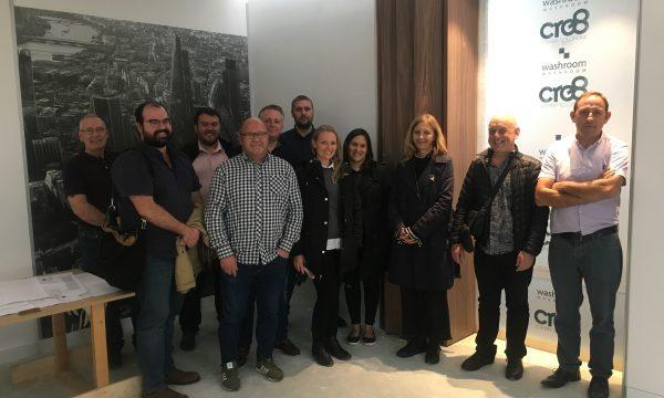 22 Bishopsgate mock-up factory visit