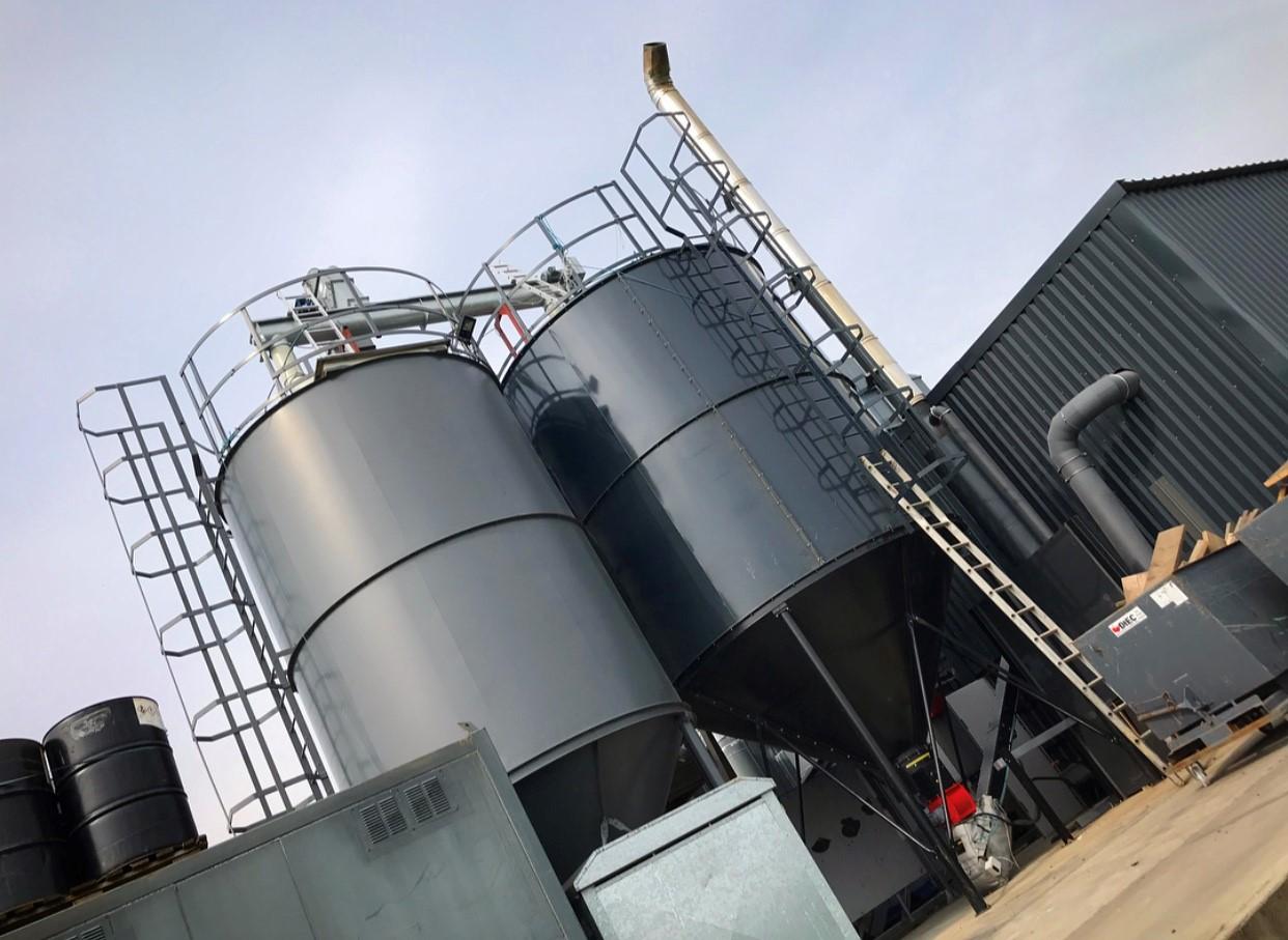 Biomass boiler