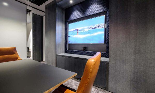TV wall area