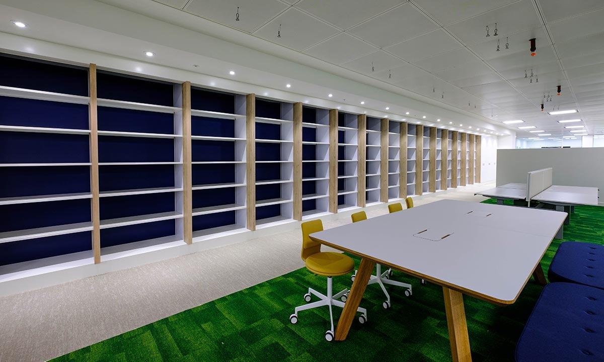 Library storage system - Queen Victoria Street
